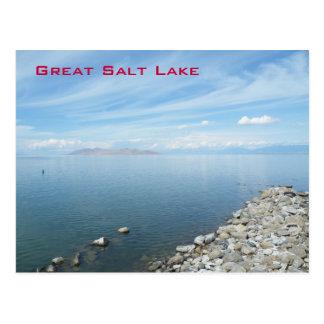 Great Salt Lake Postcard