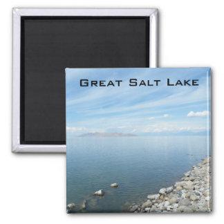 Great Salt Lake Square Magnet