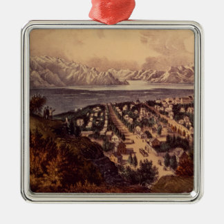 Great Salt Lake, Utah Christmas Ornament