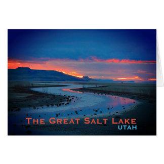 Great Salt Lake, Utah Landscape Card