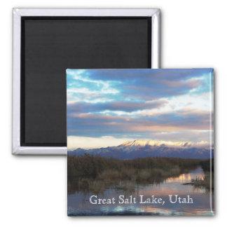 Great Salt Lake Utah Fridge Magnet