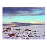 Great Salt Lake, Utah Postcard
