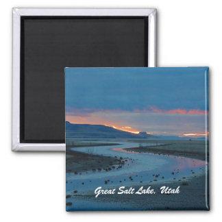 Great Salt Lake, Utah Square Magnet