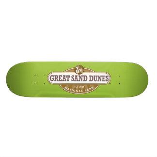 Great Sand Dunes National Park 21.3 Cm Mini Skateboard Deck