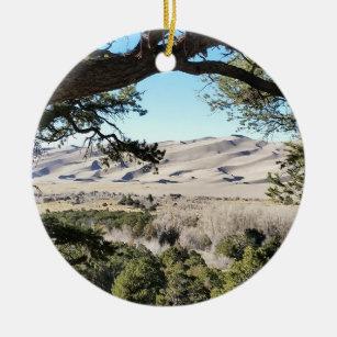 Great Sand Dunes National Park Christmas Ornament