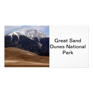 Great Sand Dunes National Park Colorado Photo Greeting Card