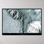 Great Sand Dunes National Park, Colorado satellite Poster