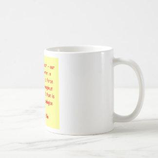 great Sarah Palin quote Basic White Mug