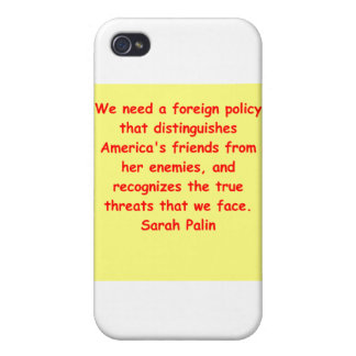 great Sarah Palin quote Cases For iPhone 4