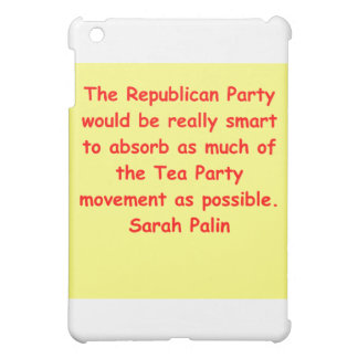 great Sarah Palin quote Cover For The iPad Mini