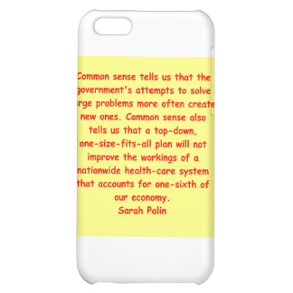great Sarah Palin quote Case For iPhone 5C