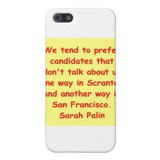 great Sarah Palin quote Cases For iPhone 5