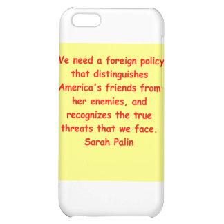great Sarah Palin quote iPhone 5C Case