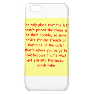 great Sarah Palin quote Cover For iPhone 5C