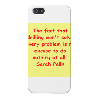 great Sarah Palin quote iPhone 5 Cover