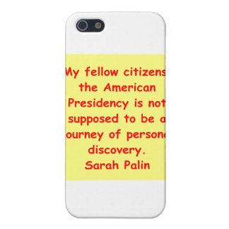 great Sarah Palin quote Covers For iPhone 5