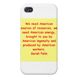 great Sarah Palin quote iPhone 4/4S Cover