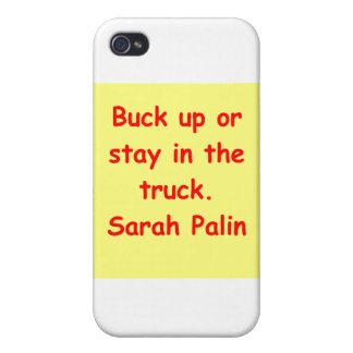 great Sarah Palin quote iPhone 4/4S Case