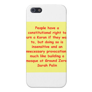 great Sarah Palin quote Case For iPhone 5