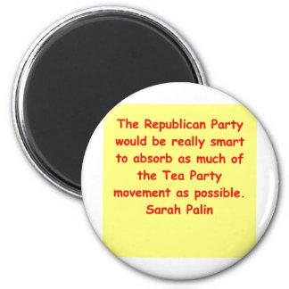 great Sarah Palin quote Magnet