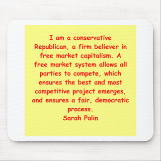 great Sarah Palin quote Mouse Pads