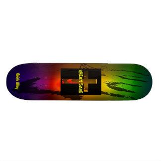 Great Save Custom Skate Board