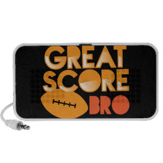 Great Score Bro! with Football Mini Speaker