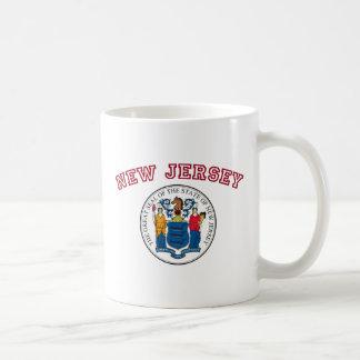 Great Seal of New Jersey Basic White Mug