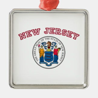 Great Seal of New Jersey Ornament