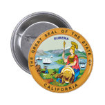 Great seal of the state of California Pin