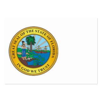 Great seal of the state of Florida Business Card Templates