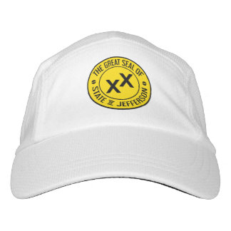 Great Seal of the State of Jefferson Baseball Cap