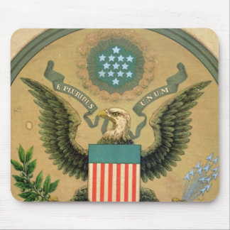 Great Seal of the United States, c.1850 Mouse Mat