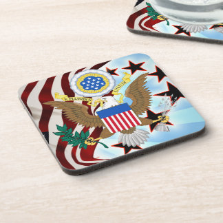 Great seal of the United States Drink Coasters