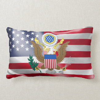 Great seal of the United States Lumbar Cushion