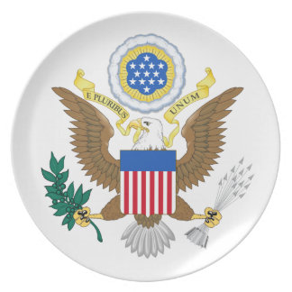 Great seal of the United States Plate