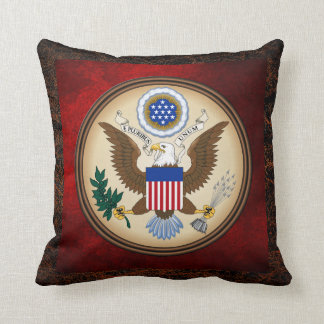 GREAT SEAL OF THE UNITED STATES THROW CUSHIONS