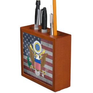Great seal of United States Desk Organiser