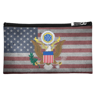 Great seal of United States Makeup Bags