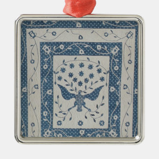 Great Seal of United States Quilt Christmas Ornament