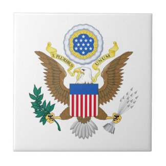 Great seal of United States Tile