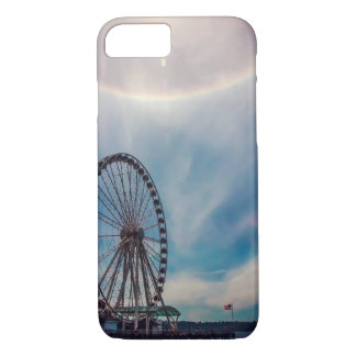Great Seattle Wheel with Sun Halo iPhone 7 Case