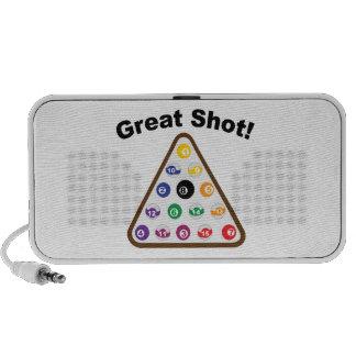 Great Shot Notebook Speakers
