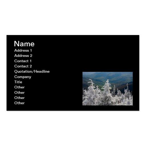 Great Smoky Mountain National Park Business Card Templates