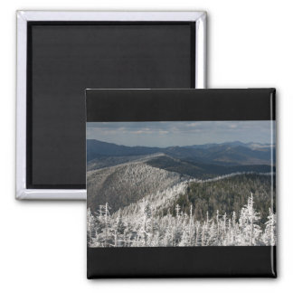 Great Smoky Mountain National Park Square Magnet