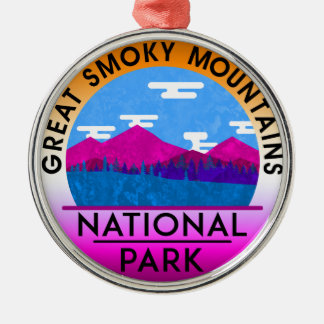 Great Smoky Mountain National Park Tennessee Christmas Ornament