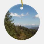 Great Smoky Mountain Vista 3 Round Ceramic Decoration