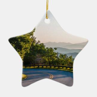 Great Smoky Mountains 2 Ceramic Star Decoration