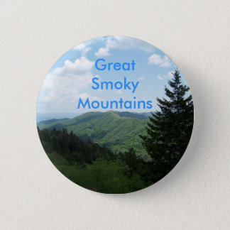 Great Smoky Mountains 6 Cm Round Badge