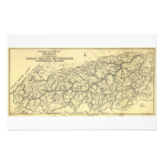 Great Smoky Mountains National Park (1934) Stationery